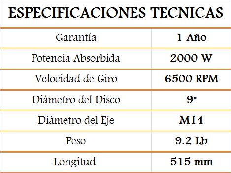 media wysiwyg Bosch Pulidoras Pulidora GWS 24 230 20230 Tornillos del Sur Importaciones