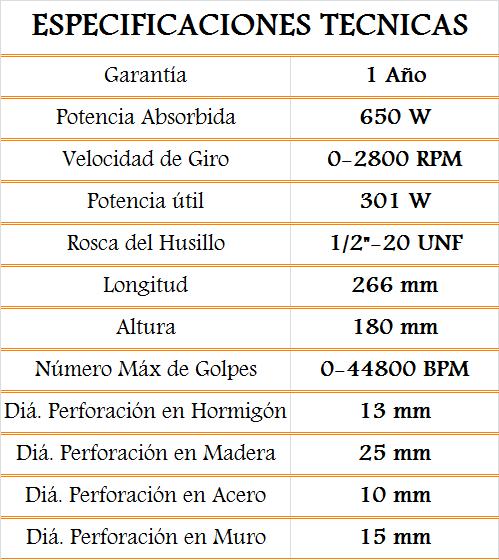 media wysiwyg Bosch Taladros Taladro GSB0 13RE Caja carton gsb 13 recp Tornillos del Sur Importaciones