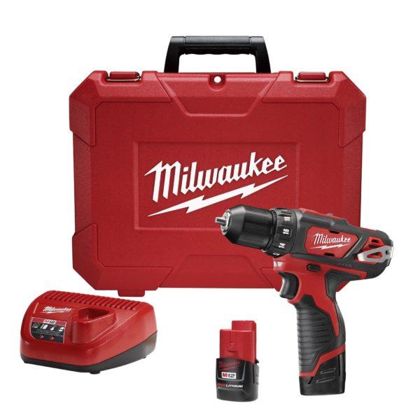 Taladro atornillador 2407-22 Milwaukee-447