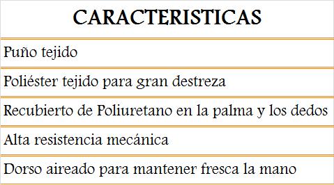 media wysiwyg Zubiola Proteccion Manual Guantes 11916706 guante Tornillos del Sur Importaciones