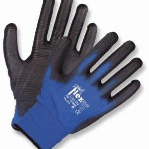Guante Nylon Texturado Azul-0